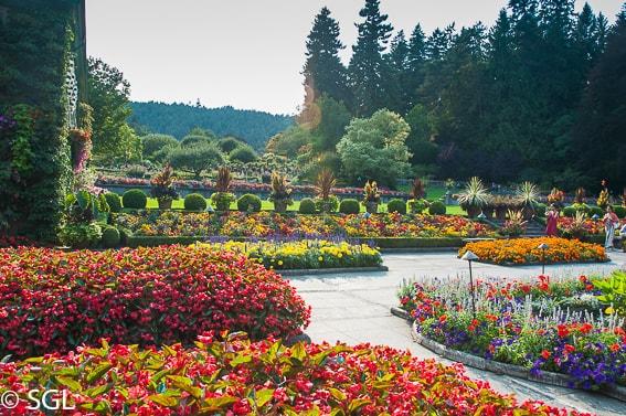 Jardines Butchart. Isla de Vancouver. Canada
