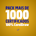1084 certificados em CorelDraw - Download Grátis!