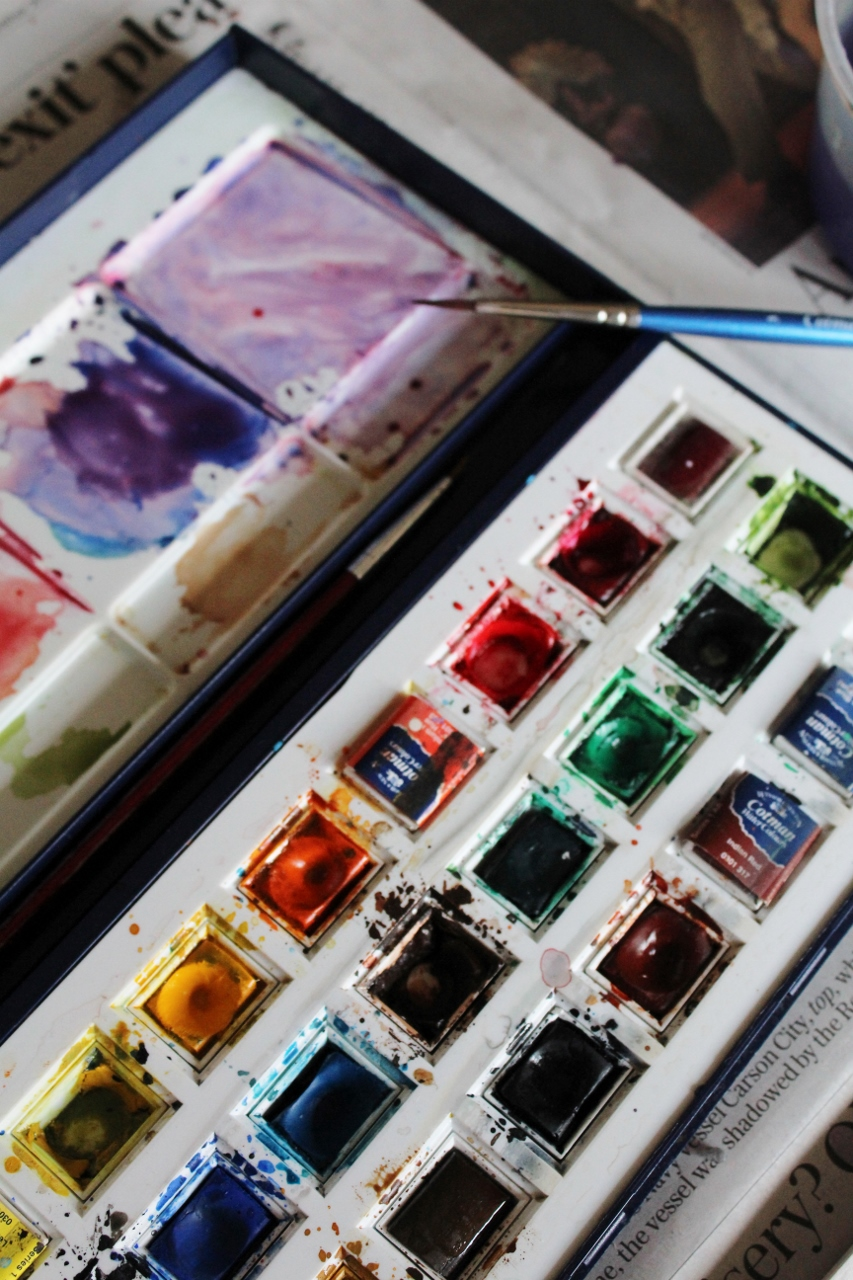 Watercolour palette