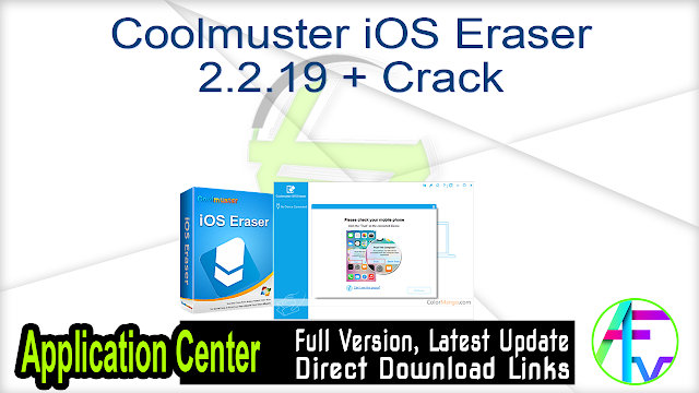 Coolmuster iOS Eraser 2.2.19 + Crack