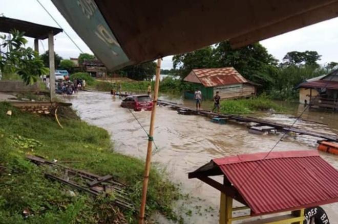Air Sungai Meluap, Poros Bone-Wajo Via Cempa Terputus