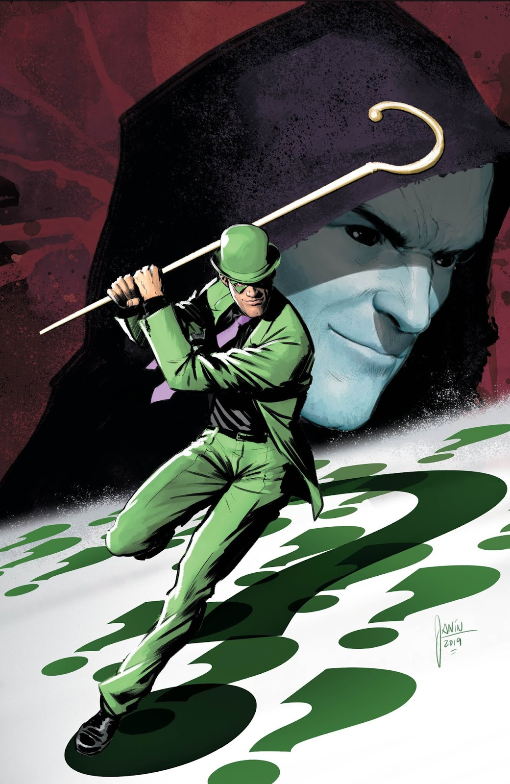 Weird Science DC Comics: PREVIEW: The Riddler: Year of the Villain #1