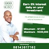 Cashgist investment - How to make extra income online