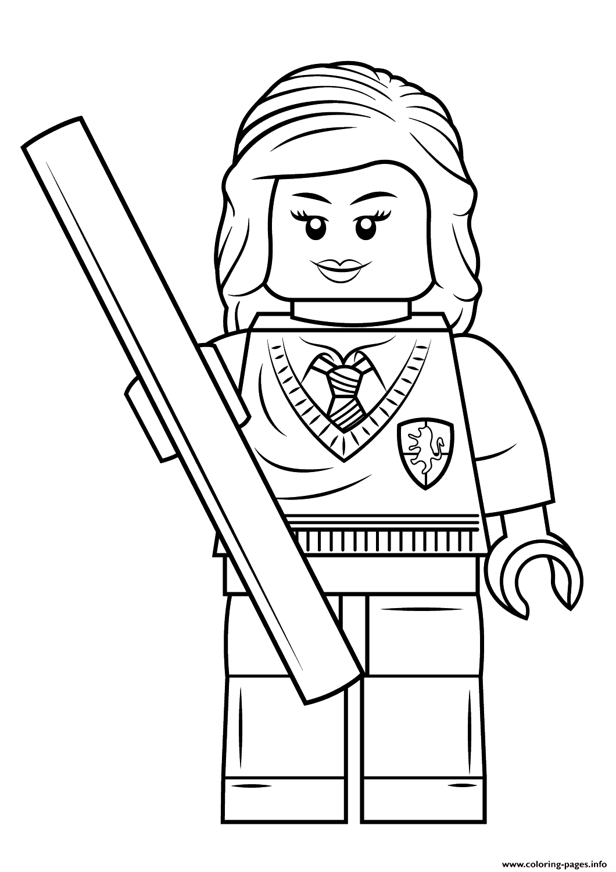 Harry Potter Ausmalbilder Lego Hermine
