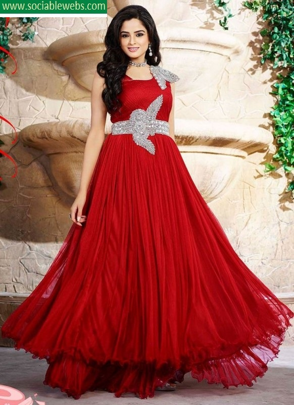Beautiful Red Party Dresses - Missy Dress