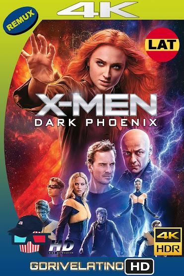 X-Men: Dark Phoenix (2019) BDRemux 4K HDR Latino-Ingles MKV