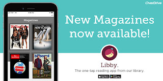 Download OverDrive's Libby app and start reading eBooks, eMagazines, and eAudiobooks.