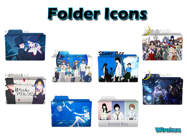 Download Folder Icon Anime Summer 2021