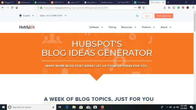 Blog Title Generator - TechnoShamoon
