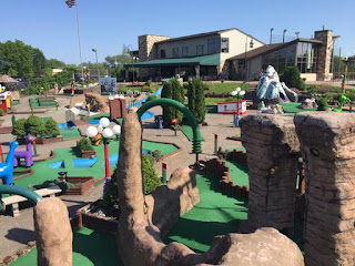 Photo of the Miniature Golf at Vitense Golfland in Madison, Wisconsin