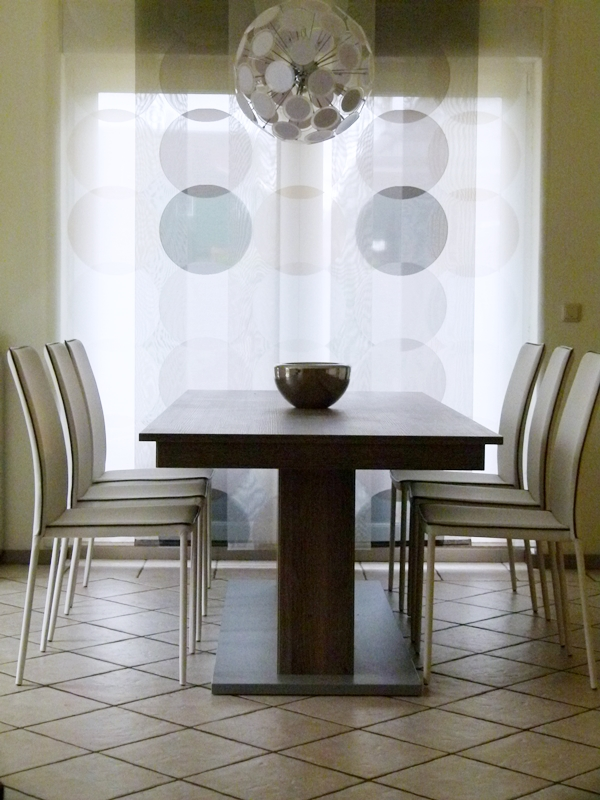6 Stühle Kables Von Contemporary/Tomasucci Am Großen Esstisch