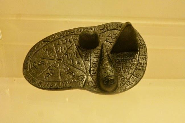 figado de piacenza - A Necrópole Etrusca de Cerveteri