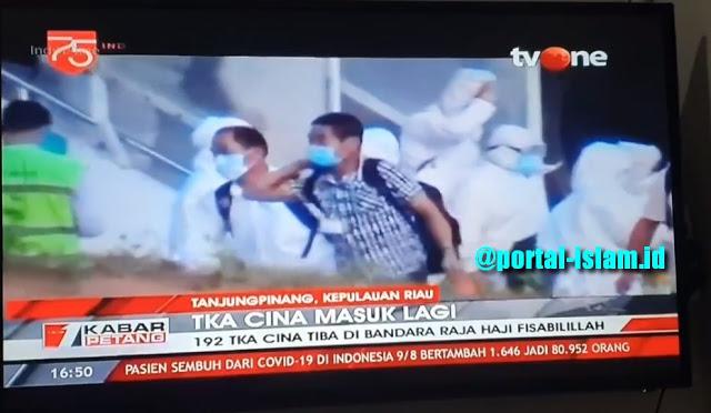 Lihat Nih! Lagi, Ratusan TKA China Tetap Masuk Indonesia di Masa Pandemi