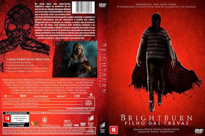 Filme Brightburn - Filho Das Trevas DVD Capa