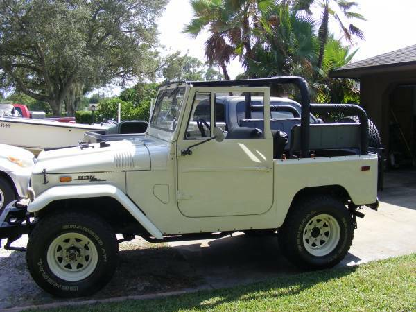 1970 Toyota FJ40 Land Cruiser Original Numbers Matching ...