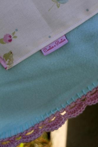 Conjunto de bebé em tecido - Manta polar