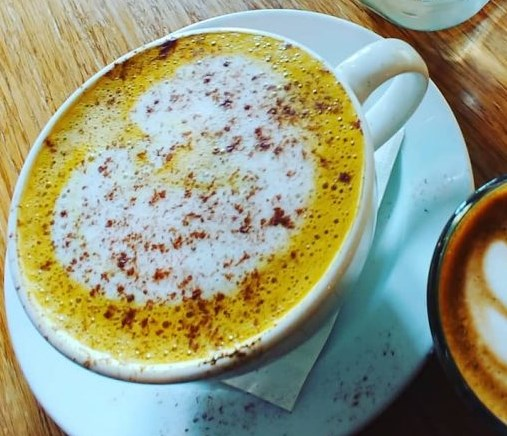 Turmeric Fat Burning Coffee Recipe #drinks #healthy
