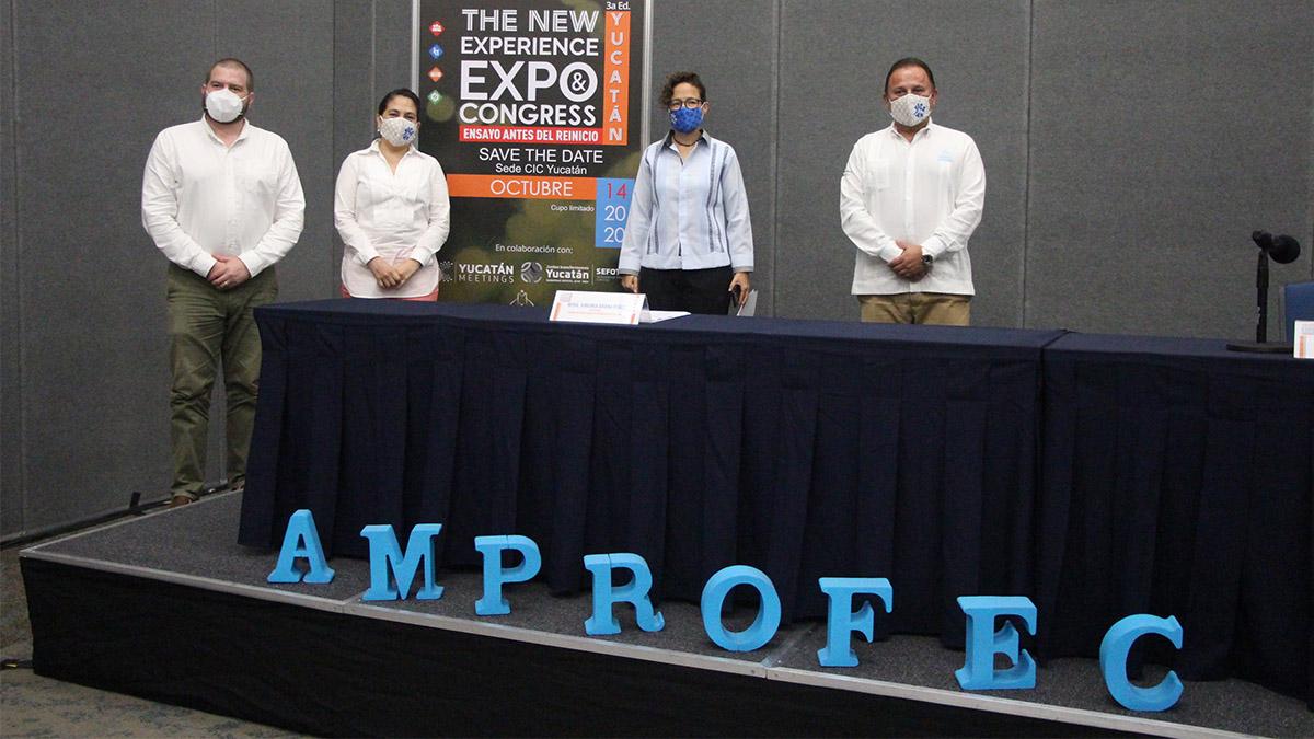 AMPROFEC YUCATÁN NEW EXPERIENCE EXPO CONGRESS 01