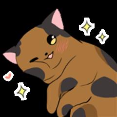 Tortoiseshell<Cat sticker>