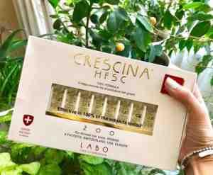 تجارب امبولات كريستينا crescina labo للشعر