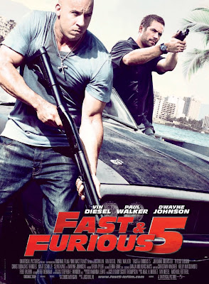Fast and Furious A todo gas 5 Póster
