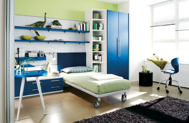 Blue Kids Bedroom