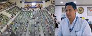 Mayor Richard Gomez pinakita ang tamang pagpapatupad ng social distancing nang sinagawa ang isang programa ng DOLE