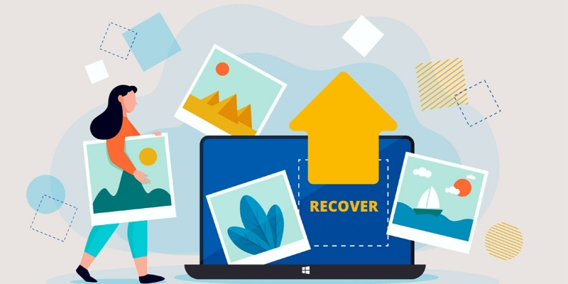 RECOVER DELETED PHOTOS AND VIDEOS
