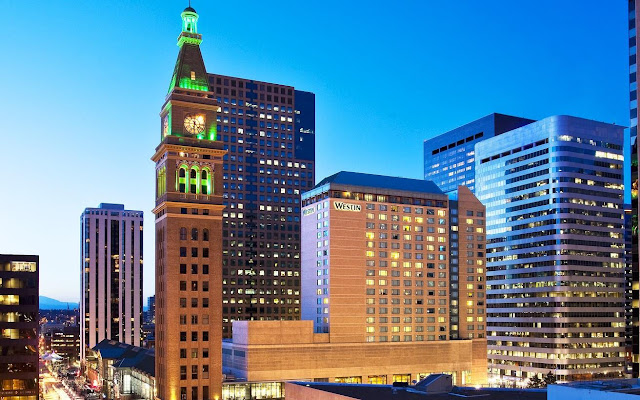 Book your stay at The Westin Denver Downtown. This stylish Colorado hotel offers on-site restaurants and one of the largest event spaces in the area.