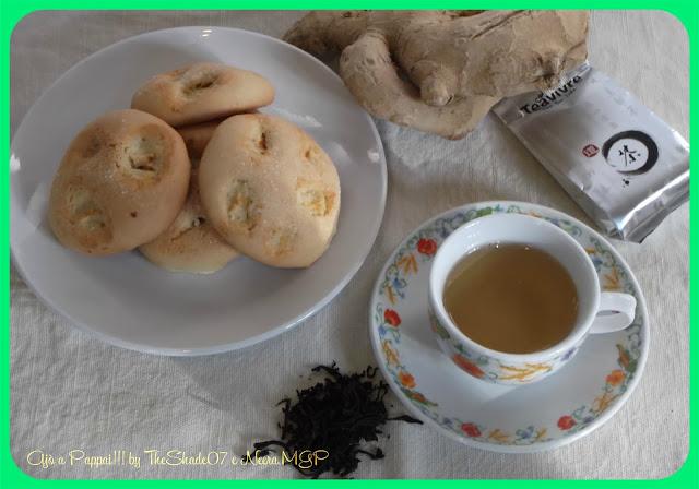 Fotografia della ricetta Biscotti allo zenzero con TeaVivre