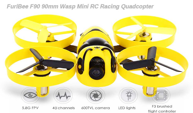 Furibee F90 Mini Rc Racing Drone