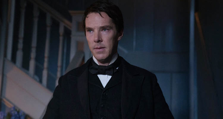 """Benedict Cumberbatch"" (Doctor Strange, The Imitation Game) como Thomas Edison"