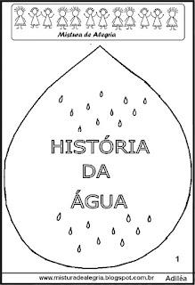Livrinho história da água