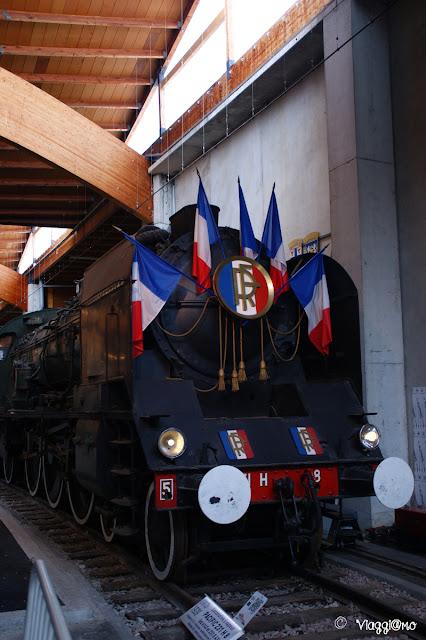 Mulhouse Museo Ferroviario - Locomotiva Repubblica Francese