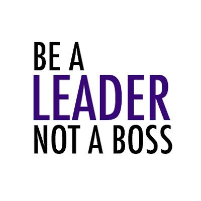 be a leader, bossy