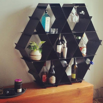 Modular Geometric Shelf