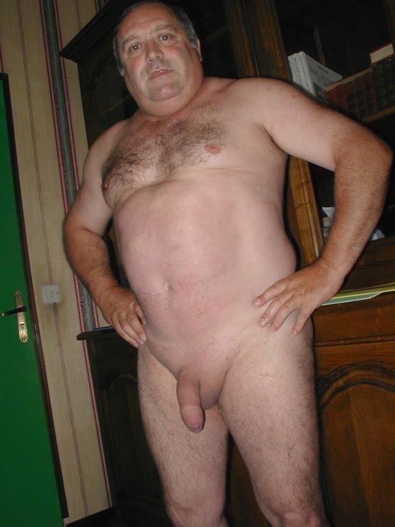 Nude Old Fat Men