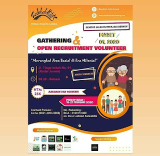 Gathering dan Open Recruitmen  Volunterr 2020