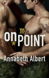romance novel covers, m/m romance, On Point by Annabeth Albert