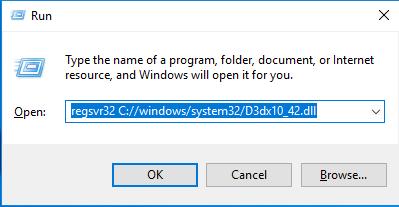 Télécharger D3dx10_42.dll Fichier Gratuit Installer