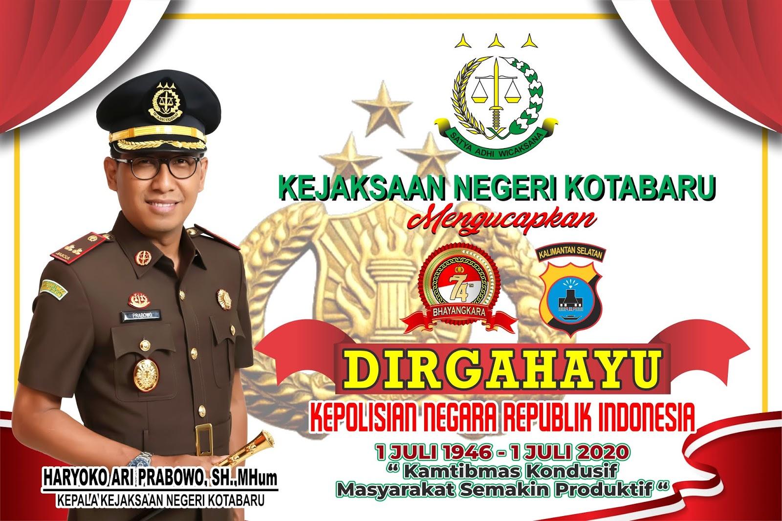 Banner Kejaksaan Kotabaru