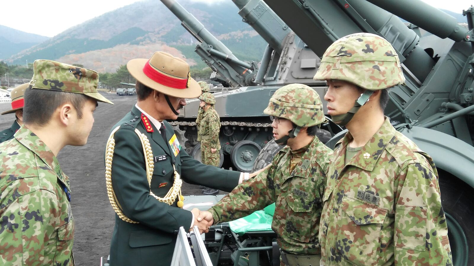 Indian Army Chief Visits Japan - Shailesh Kumar: Strategic ...
