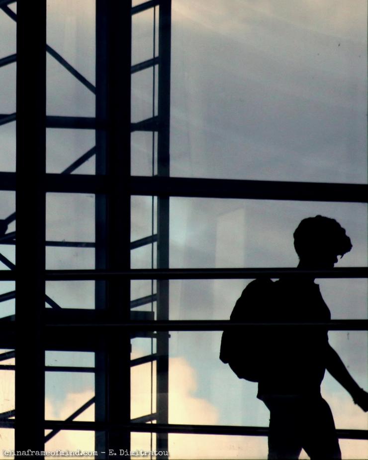 passenger overpass Jamaica LIRR