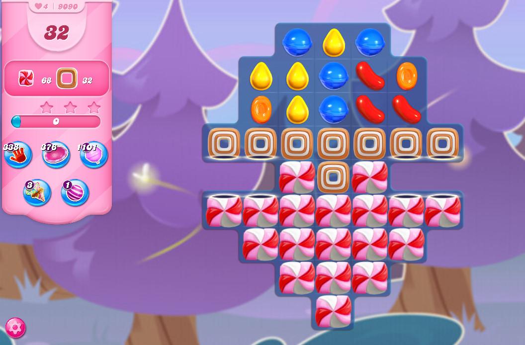 Candy Crush Saga level 9090