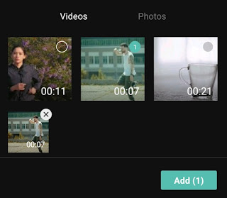 add video into project