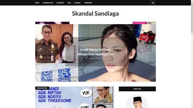 Situs Skandal Sandiaga