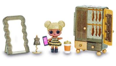 Лол Сюрприз кукла Пчелка и мебель для домика L.O.L. Surprise Furniture 2019