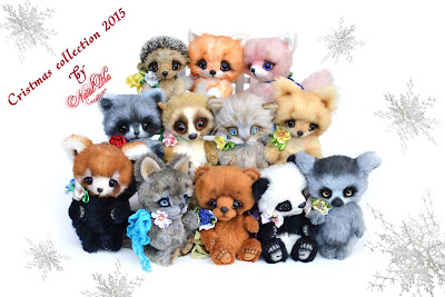 Artist teddy bears, Künstlerteddys, Künstlerbären, NatalKa Creations, teddies, ooak, unique bears, Teddybären, artist bears
