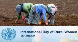 International Day of Rural Women October 15, 2018
