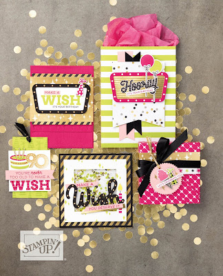 Stampin' Up! Broadway Bound Projects ~ 2018-2019 Annual Catalog